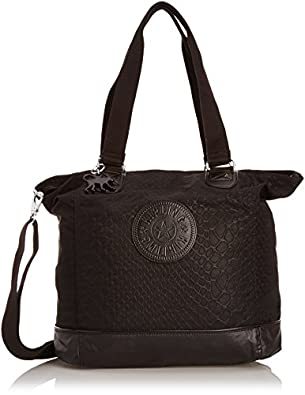 Kipling Women's Shopper Combo Shoulder Bag K12272C02 Black Animal Tf