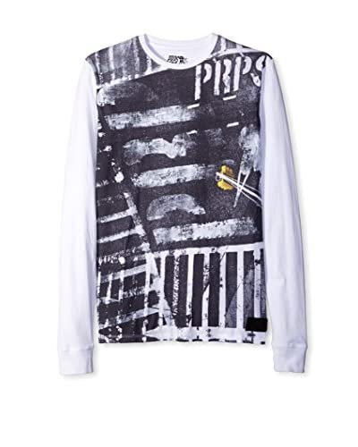 PRPS Goods & Co. Men's Stoplight Graphic Long Sleeve Tee
