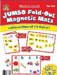 SCHOLASTIC Set of 5 Jumbo Magnetic Mats
