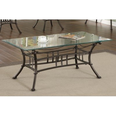 Buy low price coffee table in matte black with beveled for Buy black coffee table
