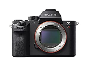 Sony 7R II Full-Frame Mirrorless Interchangeable Lens Camera, Body Only (Black) (ILCE7RM2/B)
