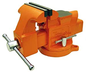 Pony 29060 6 inch heavy duty workshop bench vise with swivel base pin vises 6 inch bench vise