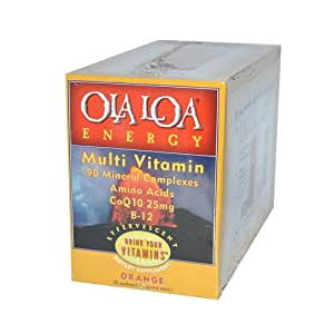 Ola Loa Multivitamin Supplement, Orange, 30 Packets