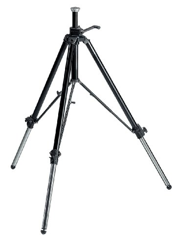 Manfrotto 117B Geared Video Tripod With Rubber