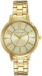 Giordano Analog Gold Dial Womens Watch - A2018-22