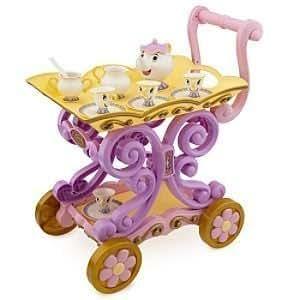 Disney Belle's Enchanted Deluxe Tea Cart Play Set