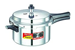 Prestige Popular Plus Induction Base Pressure Cooker, 4 Litres
