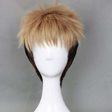 OOFAY JF ® capelli anime cosplay di nuovo maschio parrucca sufeng gigante jean Kirstein , multicolor
