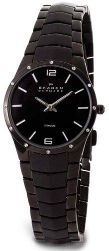 Skagen Women's 694STMXB Titanium Bracelet Watch