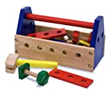 41eodEdsE8L. SL160  Melissa & Doug Wooden Take Along Tool Kit