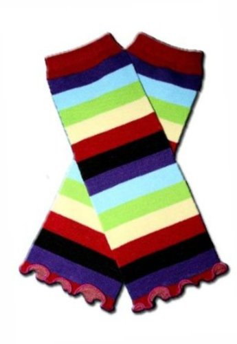 Legwarmers For Infant And Toddler (Striped) front-409690