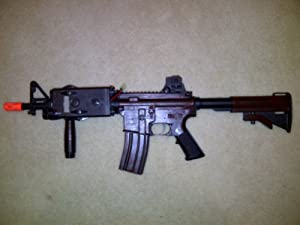 M4 S-System Airsoft AEG Rifle by A&K Model: 7799