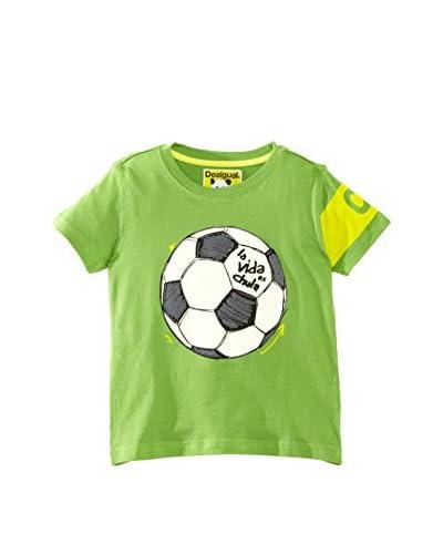 Desigual Camiseta Verde