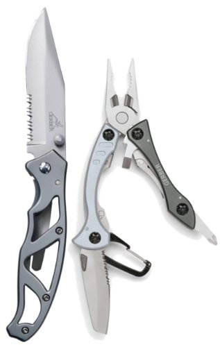 Best Buy! Gerber 31-002461 Paraframe Assist Open and Crucial Pocket Tool Combo
