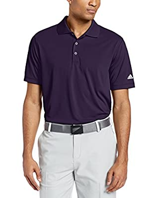 adidas Golf Men's Puremotion Solid Jersey Polo