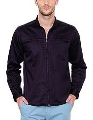Yepme Men's Solid Cotton Shirt - YPMSHRT0461