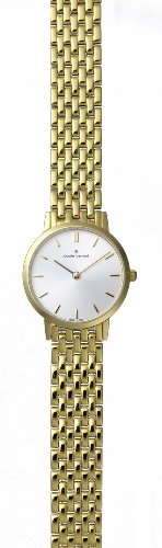 Claude Bernard Women's 20059 37JM AID Classic Ladies - Slim Line Gold PVD Stainless Steel Watch