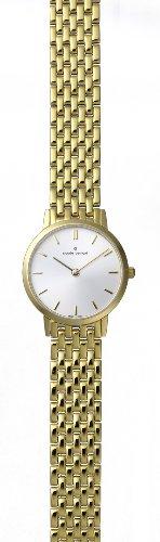 Claude Bernard Women's 20059 37JM AID Classic Ladies - Slim Line Gold PVD Stainless Steel Watch