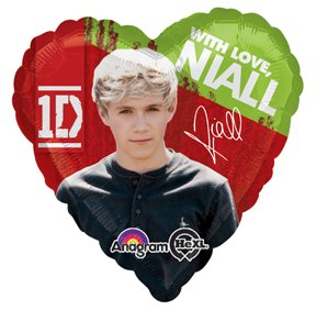One Direction - Niall Standard HX Balloon by Tristan's Entertainment Services