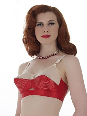 What Katie Did L6095 Marlene Bullet Bra at Amazon Women's Clothing