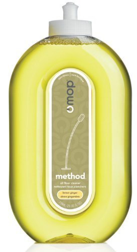 Method Squirt & Mop Hard Floor Cleaner - Lemon Ginger - 25 oz (Method Wood Cleaner compare prices)