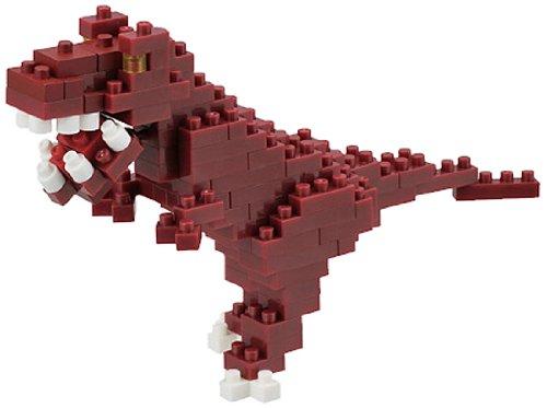 KAWADA Nanoblock 240 Piece 3D Puzzle Tyrannosaurus NBC-111