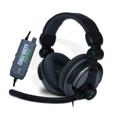 Turtle Beach Call Of Duty: Mw3 Ear Force Charlie: Limited Edition Multi-Speaker 5.1 Surround Sound Gaming Headset (Tbs-4216-01)