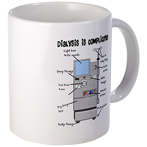 CafePress Dialysis Coffee Mugs - Mega White