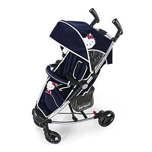 stroller ginger hello kitty 023 blue brevi baby. Black Bedroom Furniture Sets. Home Design Ideas
