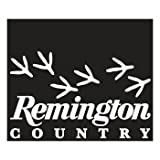 Remington Country White Die-Cut Vinyl Decal - Turkey Tracks (17412)