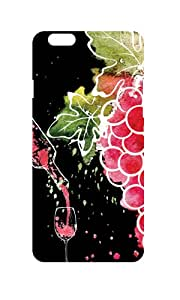 NH10 UV HD SERIES Wine Of Grapes Hard shell For Apple iPhone 6