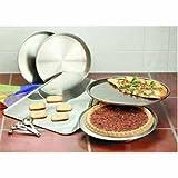 Maxam 9-Piece Stainless-Steel Bakeware Set