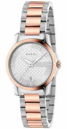 Gucci Watch G-timeless Sm Silver YA126528
