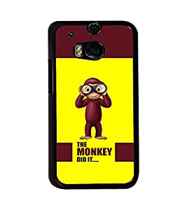 PRINTVISA Quotes Cartoon Funny Case Cover for HTC One M8