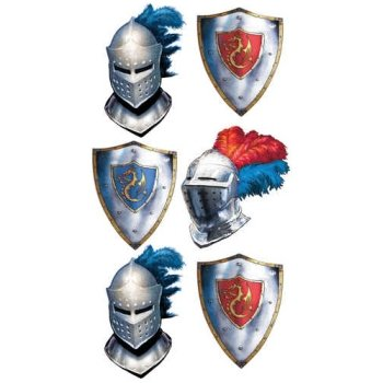 Kole Valiant Knight Temporary Tattoos - 1