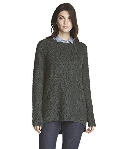 woolrich-womens-stag-tunic-sweater-blue-fir-green-size-m