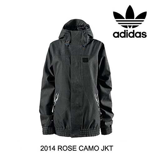 2014 ADIDAS アディダス WOMEN'S ROSE CAMO JACKET BLACK/DARK SHALE S (USサイズ) [並行輸入品]