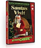 AtmosCHEERfx Santa's Visit Holiday Digital Decorations
