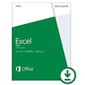 Microsoft Office Excel 2013 [�I�����C���R�[�h] [�_�E�����[�h][Windows��] (PC2��/1���C�Z���X)