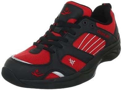 Chung Shi AuBioRiG Balance Step Promo 9100130, Herren Sportschuhe - Walking, Rot (rot/schwarz), EU 40.5 (UK 7)