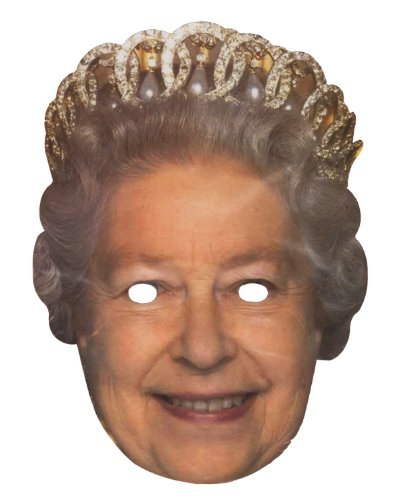 Celebrity Mask The Queen by Celebrity Mask