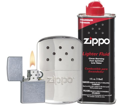 Zippo Hand Warmer Gift Set, Chrome, 12 Hour (Girl Snow Brush compare prices)