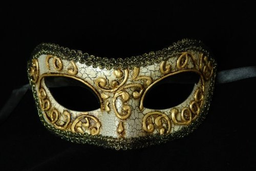 Vintage Collection Venetian Mask Masquerade Mardi Gras for Men