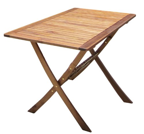 BENTLEY GARDEN WOODEN FURNITURE PATIO RECTANGULAR TABLE & 4 CHAIRS 5PC SET