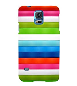 EPICCASE Parallel lines Mobile Back Case Cover For Samsung Galaxy S5 Mini (Designer Case)