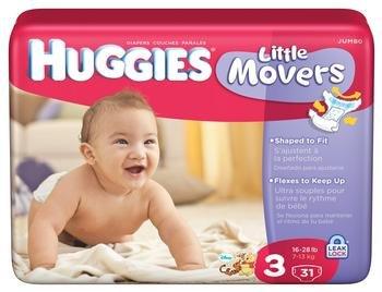 Huggies Supreme Little Movers Diapers [Huggies Supreme Jumbo Step 3] front-971676