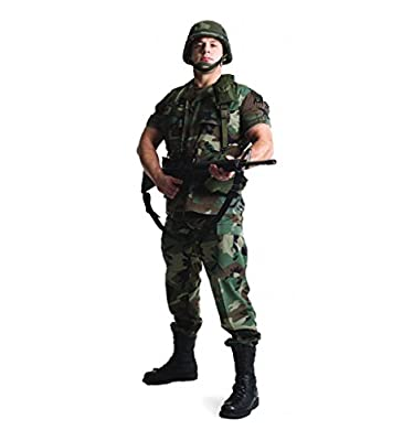 Military - Advanced Graphics Life Size Cardboard Standup