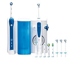 Centro Dental OXYJET CENTER OC20 3000 (Irrigador Dental Oxyjet + Cepillo eléctrico Recargable Professional Care 3000)