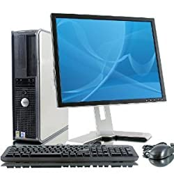 Dell Optiplex GX620 Intel Pentium 4 2800 MHz 40Gig Serial ATA HDD 1024mb DDR2 Memory DVD ROM Genuine Windows XP Professional + 17