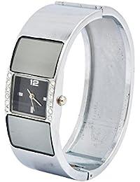 Angel Combo Of Fancy Wrist Watch And Sunglass For Women - B01FWB3IPK